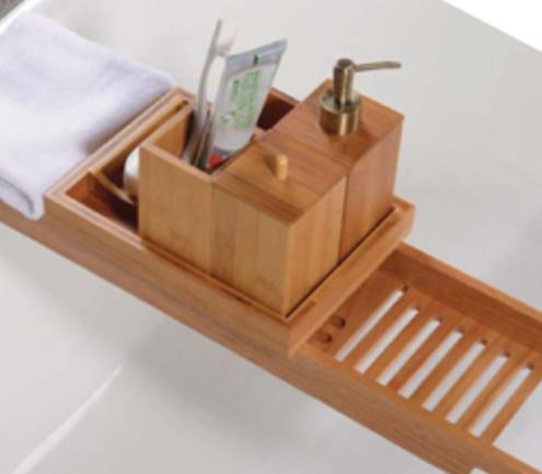 DPHA New Products and Vendor Updates: Barclay\'s New Bamboo Tub Caddies