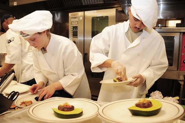 chefs preparing five star meals