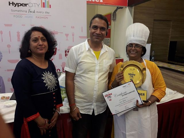 HyperCITY's Hyper Budding Chef Contest announces the winner for the Noida – City Finale