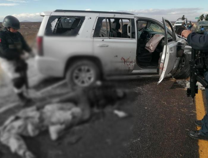 Video: Los Sicarios decapitados en Chihuahua por guerra entre el Cartel de Sinaloa y La Linea con sus aliados el CJNG