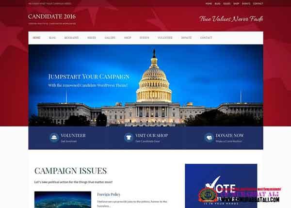 Rajneti Best Political WordPress Themes 2020