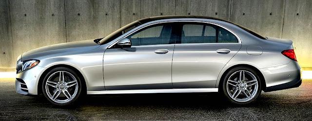Mercedes-Benz Clase E 2017 frente gris