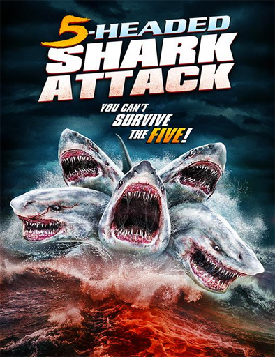 Ver 5 Headed Shark Attack (2017) Online