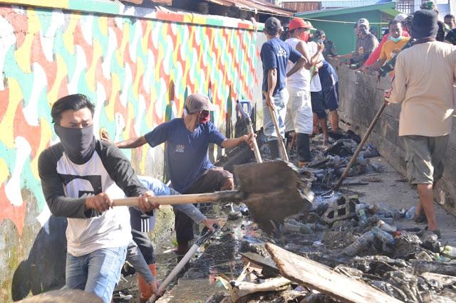 Cegah Banjir, Drainase di PPI Lappa di Bersihkan