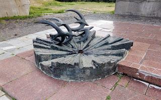 Изюм. Гора Кременец (Кремянец). Вечный огонь