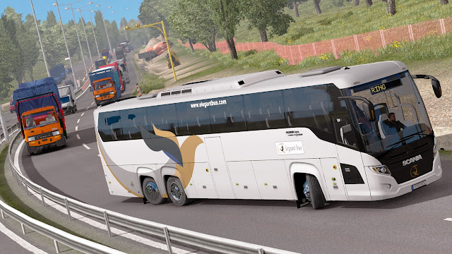 Mod Bus Tronton Scania Touring HD EP3.5 By M Husni