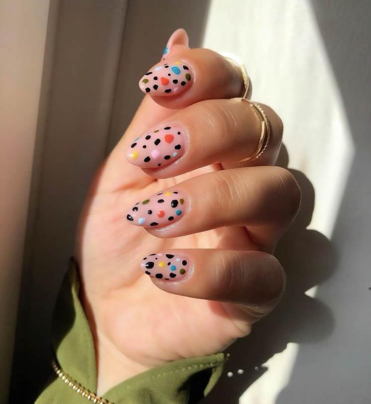 Terrazzo manicure decor 3
