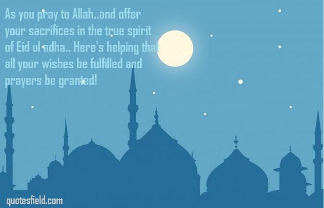 Eid ul adha quotes