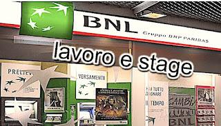 Lavoro e stage Banca Nazionale del Lavoro - adessolavoro