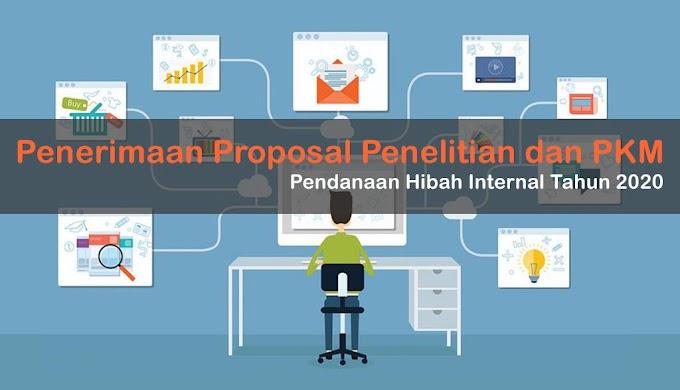 Penerimaan Proposal Penelitian dan PkM Internal Tahun 2020