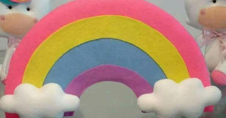 molde de arcoiris