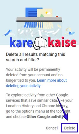 google-searh-history-confirm-kare