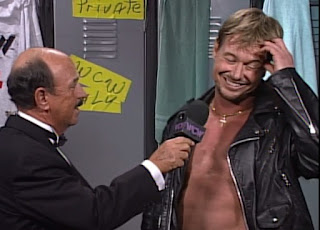 WCW Starrcade 1996 - Mean Gene Okerlund and Rowdy Roddy Piper