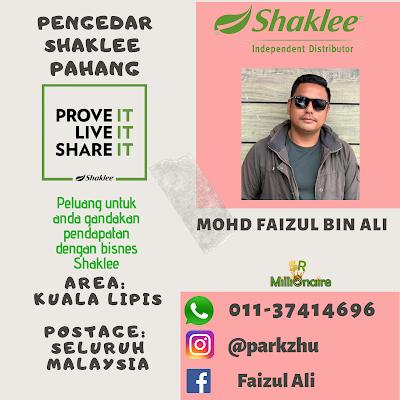 Pengedar Shaklee Kuala Lipis 01137414696