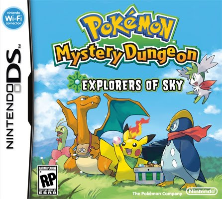 Pokemon Mystery Dungeon Explorers Of Sky Clean (EUR)