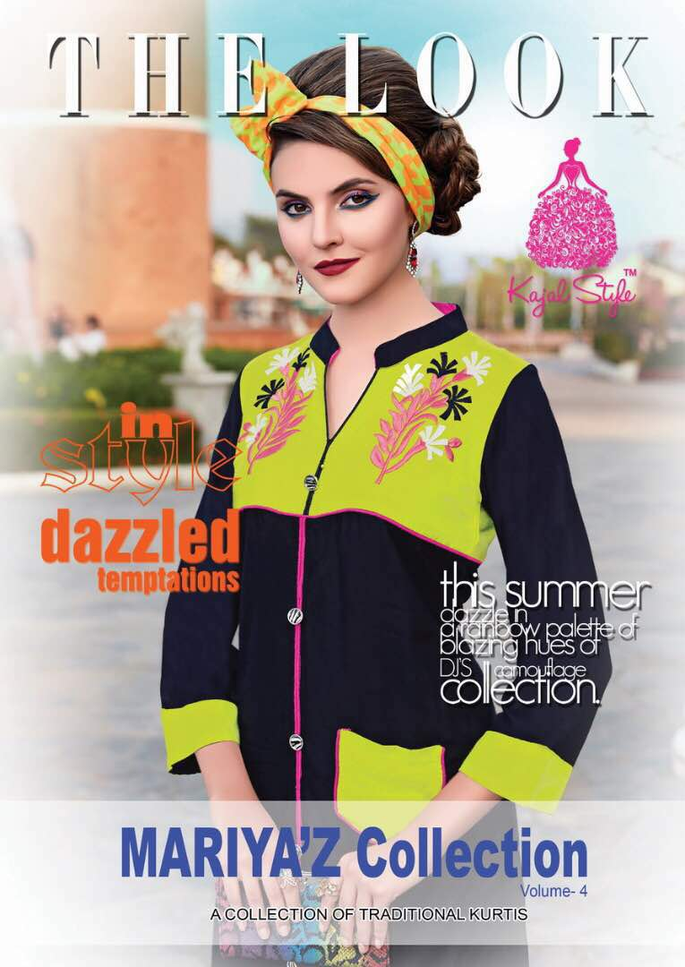 MARIYAZ Collection Vol 4 – New Arrival Rayon Designer Kurti