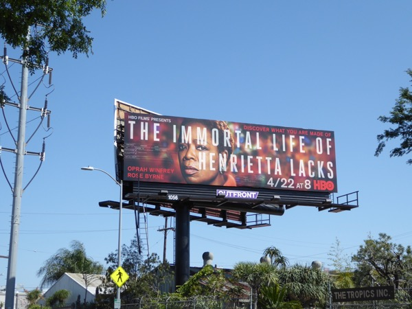 Immortal Life Henrietta Lacks billboard