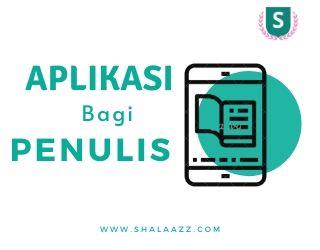 Aplikasi penulis gratis