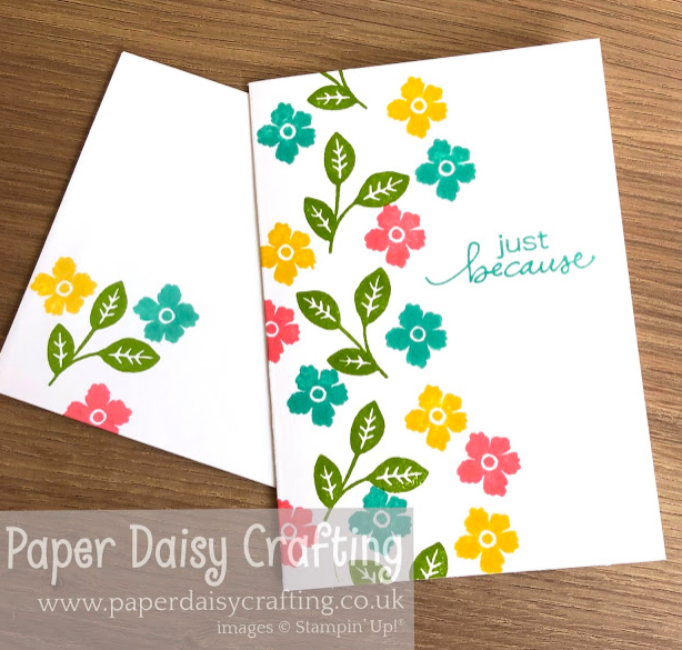 Nigezza Creates with Stampin' Up! & Paper Daisy Crafting - Jill & Gez Go Crafting 20th July