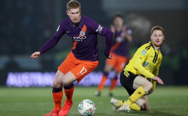 Burton vs Man City
