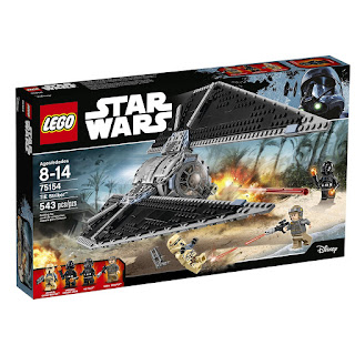 Lego TIE Striker from Rogue One's Battle of Scarif