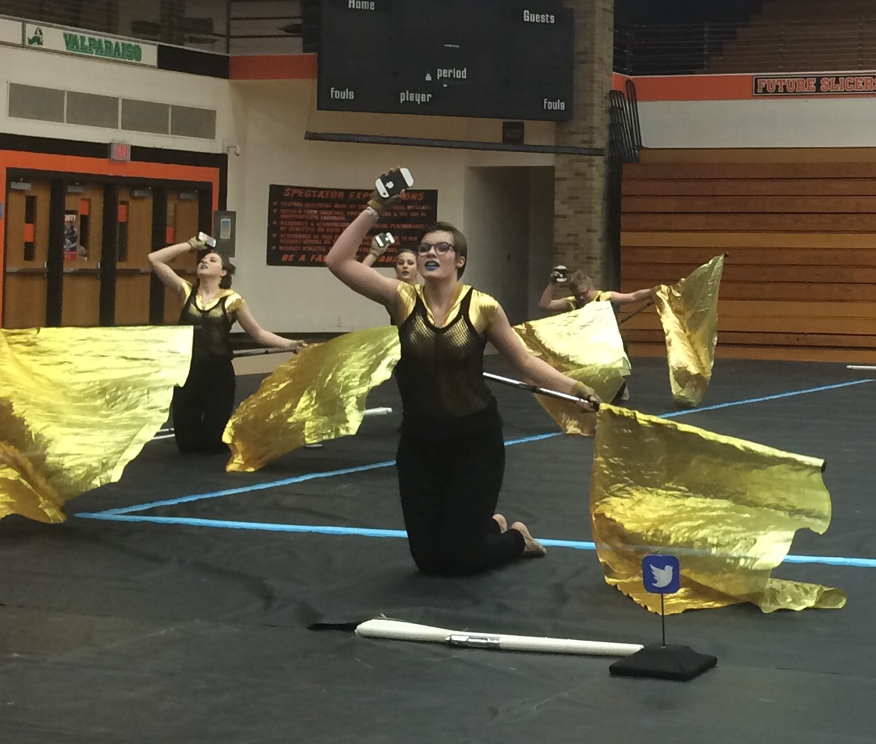 downers grove north fine arts winter guard takes third. Black Bedroom Furniture Sets. Home Design Ideas