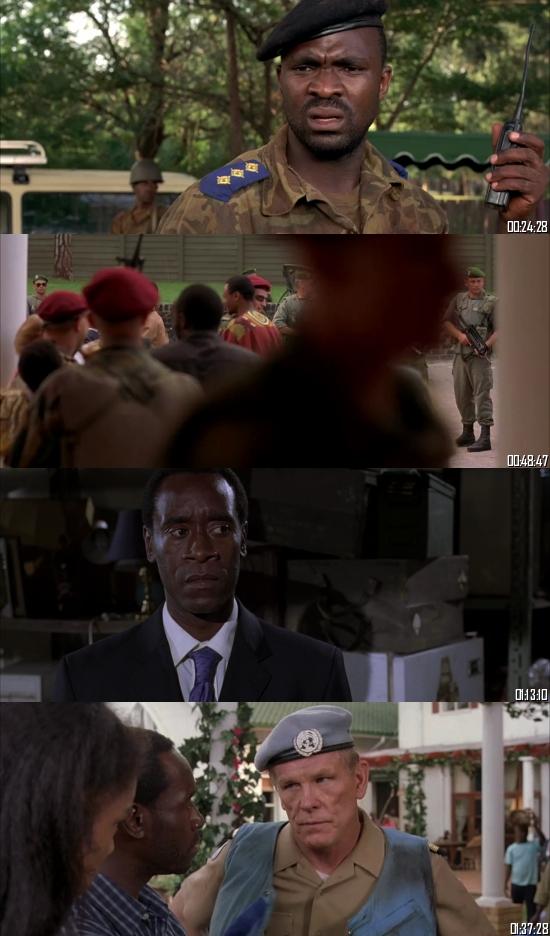 Hotel Rwanda 2004 BRRip 720p 480p Dual Audio Hindi English Full Movie Download