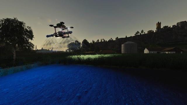 FS19 AGRICULTURAL DRONE V1.0