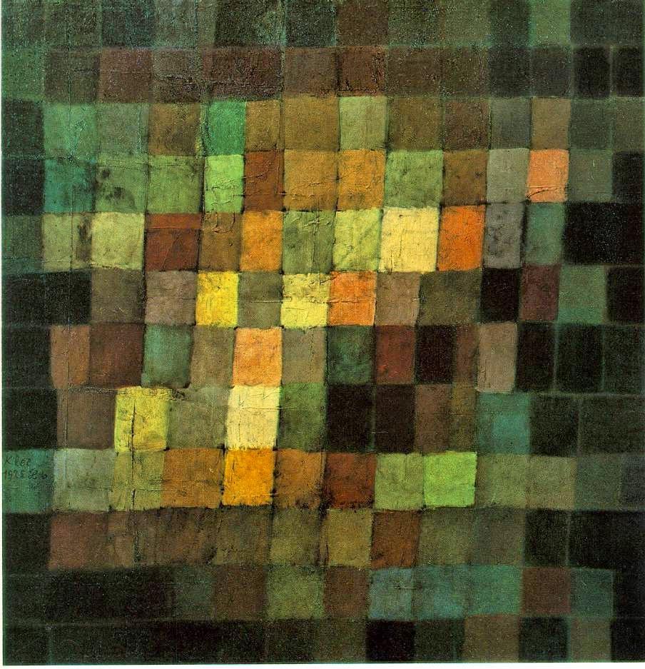 Som Antigo - Paul Klee - (Expressionismo) Suíço