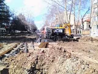 Yambol, Pedestrian Pathway, Renovation, Yambol City Centre,