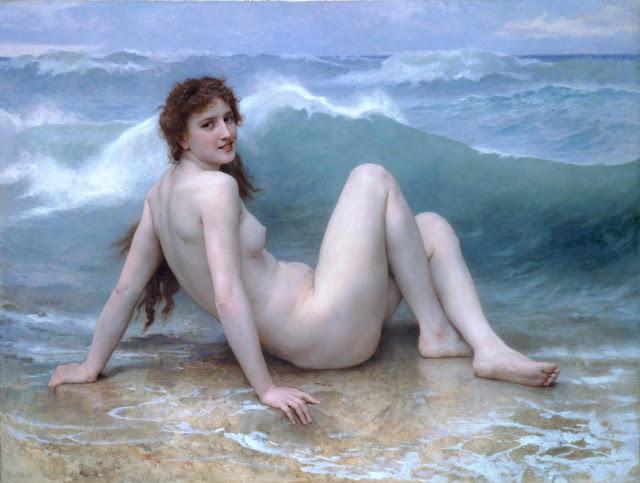 Адольф Вильям Бугро - Волна (1896)