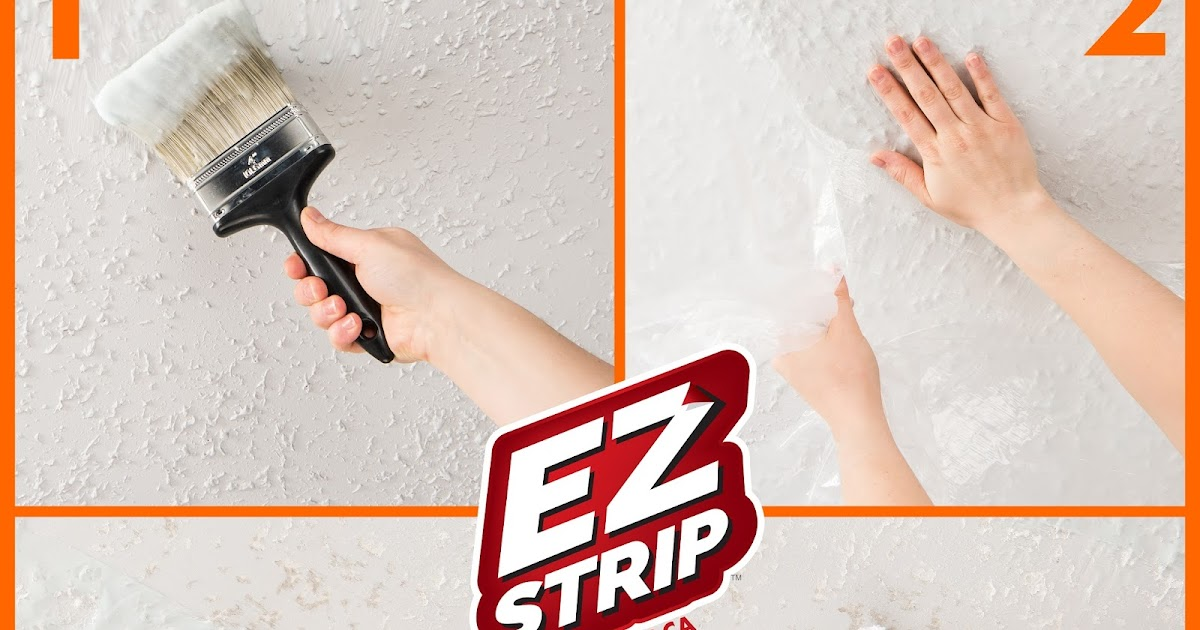 EZ Strip Blog How To Remove Popcorn Ceilings