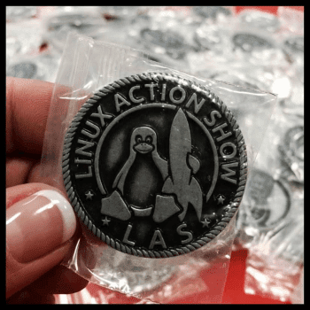 Linux Action Show Badge