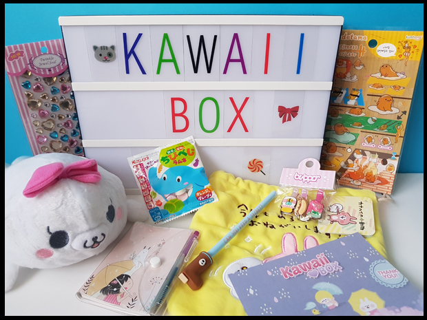 Win a mystery box full of Kawaii Japanese goodies