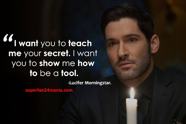 """""""I want you to teach me your secret. I want you to show me how to be a tool."""""""