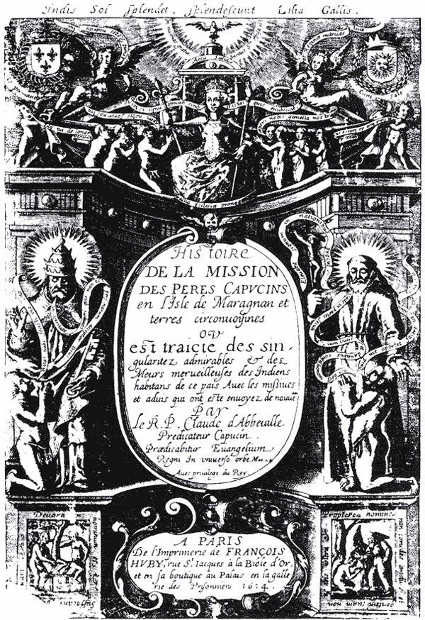 Livro Histoire de la mission de Pères Capucins en l'isle de Maragnan et terres circonvoisins