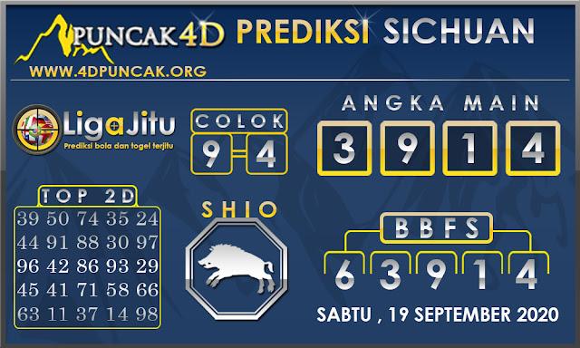 PREDIKSI TOGEL SICHUAN PUNCAK4D 19 SEPTEMBER 2020