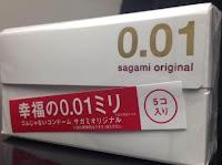 Kondom Sagami Original 001 0.01mm isi 5 pcs