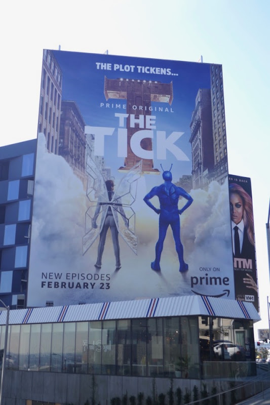Tick season 1 part 2 billboard