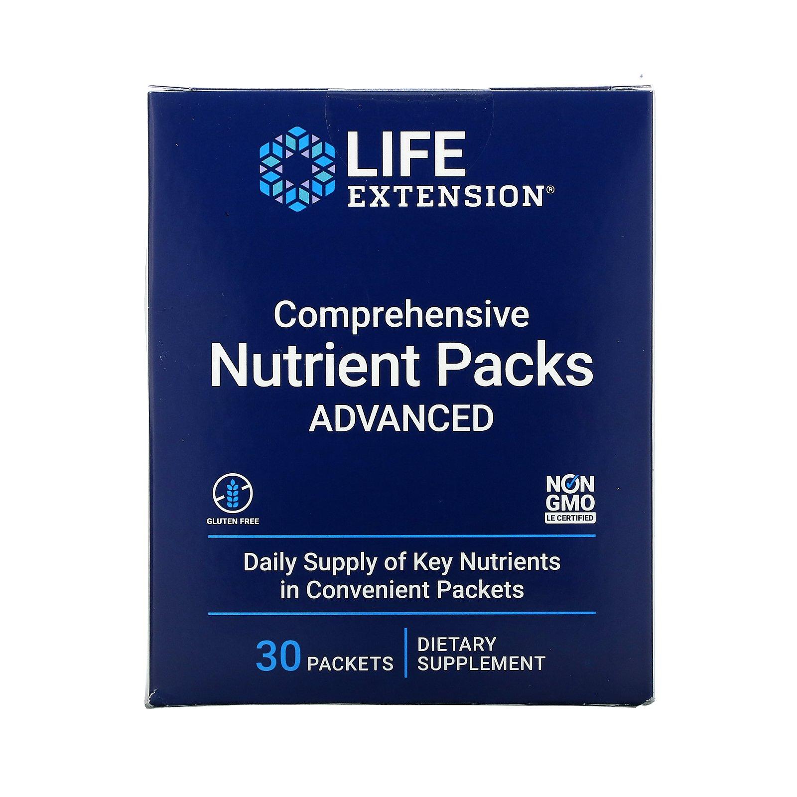 Life Extension, пакетики с комплексом питательных веществ, усовершенствованный состав, 30 шт.