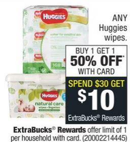 Huggies Diaper & Wipes CVS Deal