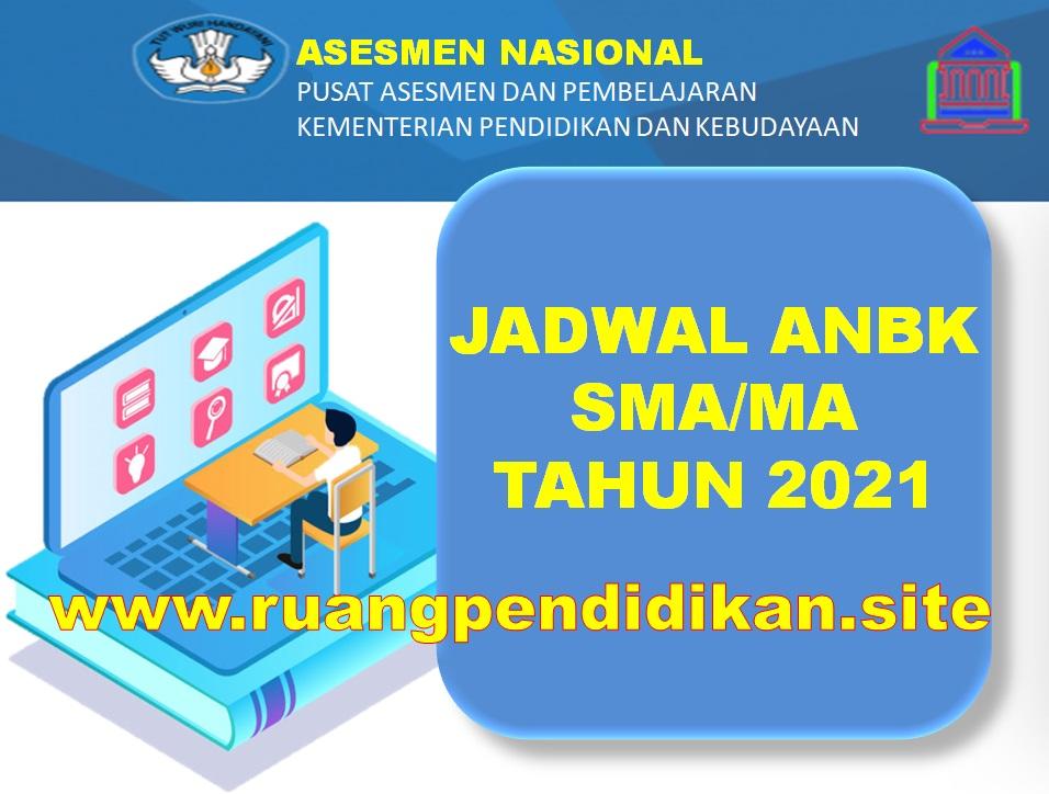 Jadwal ANBK Jenjang SMA/MA