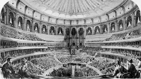 Grand opening of the Royal Albert Hall in 1871