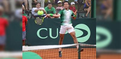 Hugo Dellien, tenista boliviano