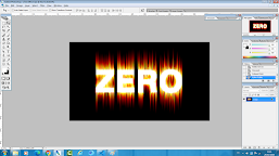 Tutorial Photoshop Membuat Text Effect Api