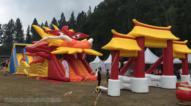 dragon run malaysia genting inflatables dragon gate
