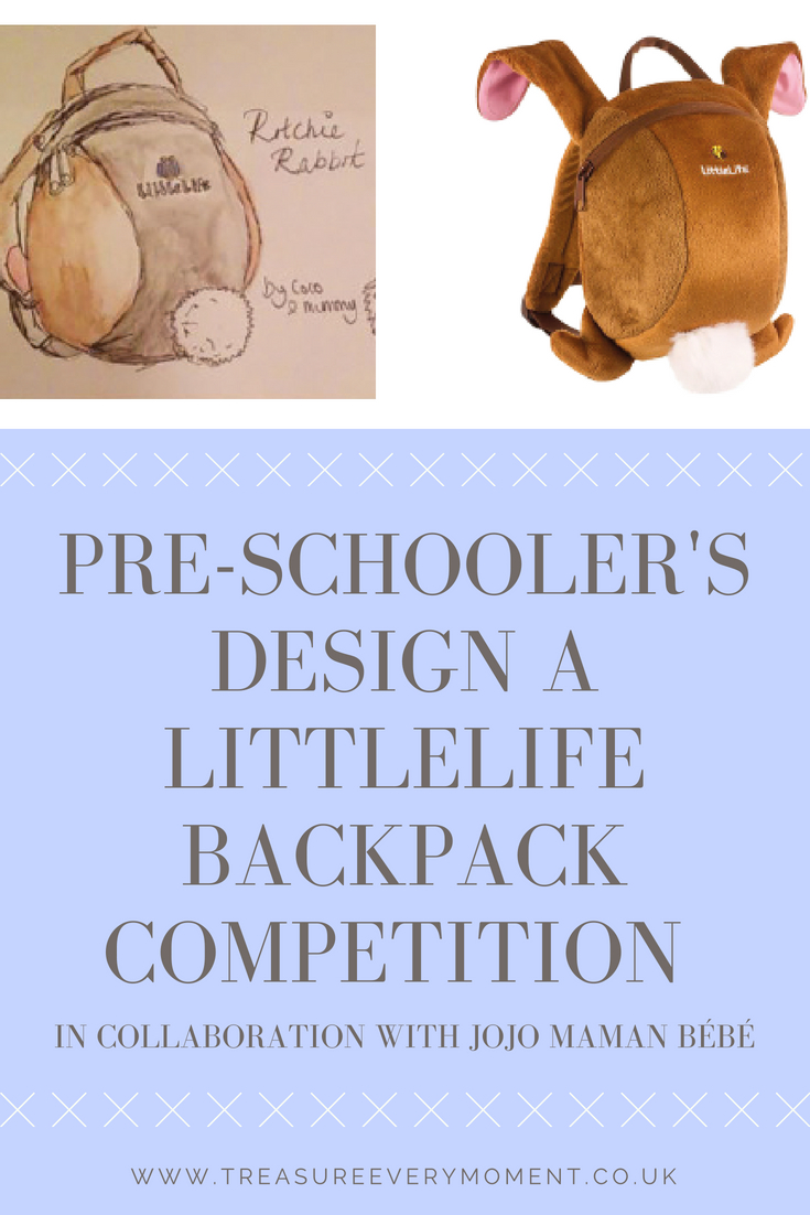 CHILDREN: Design your Own LittleLife Backpack with JoJo Maman Bébé