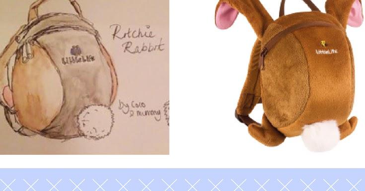 children design your own littlelife backpack with jojo. Black Bedroom Furniture Sets. Home Design Ideas
