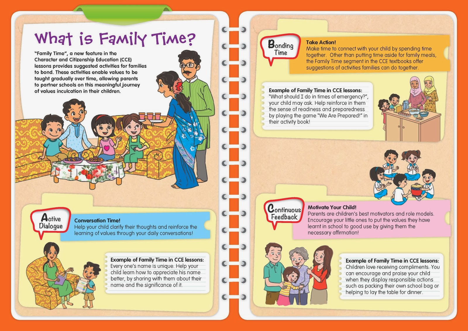 """Family Time"" brochure: Click to download."
