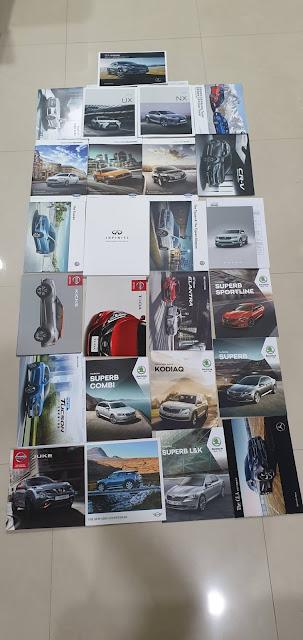 All Cars Menu